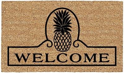 US Cocoa Mat DeCoir Pineapple Welcome Doormat