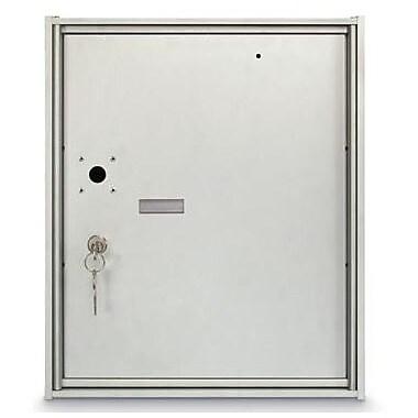 PostalProductsUnlimitedInc. 1 Unit High 4B Horizontal Parcel Locker