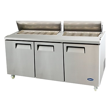 Atosa 72'' Refrigerated MegaTop Sandwich Prep Table