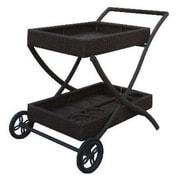 WorldWideWicker Naples Bar Cart