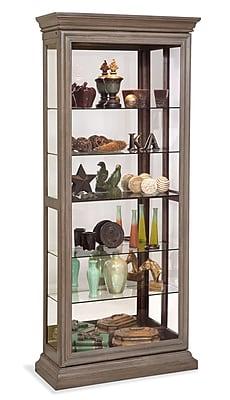 Philip Reinisch Co. Destiny Curio Cabinet; Rustic