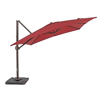 TrueShade Plus 8' Market Umbrella; Jockey Red