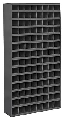 Durham Manufacturing Cold Rolled Steel Opening Parts Tall Bin Cabinet