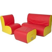 Foamnasium Cloud 3 Piece Kids Seating Group Set