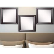 Rayne Mirrors Ava Royal Curve Beveled Wall Mirror (Set of 3)