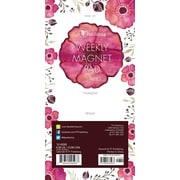 "TF Publishing 8"" x 4"" Poppies 70 page Magnetic List Pad   (10-6099)"