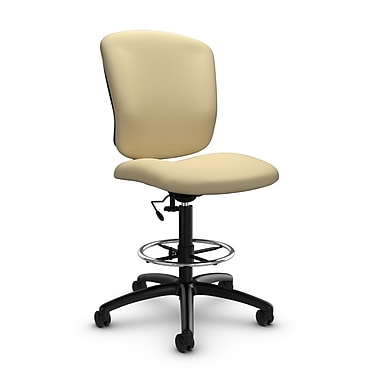 Global® (5339-6 IM70) Supra-X Drafting Task Chairs, Imprint Almond Fabric, Tan