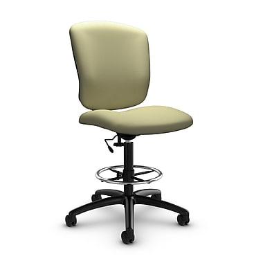Global® (5339-6 IM77) Supra-X Drafting Task Chair, Imprint Green Tea Fabric, Green