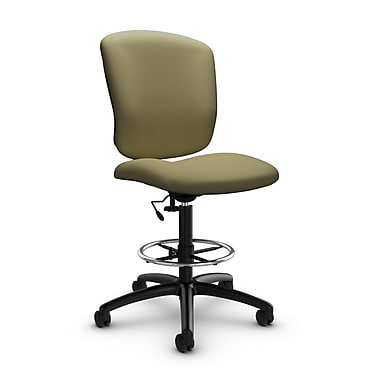 Global® (5339-6 IM79) Supra-X Drafting Task Chair, Imprint Oregano Fabric, Green