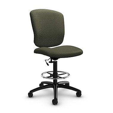 Global® (5339-6 MT22) Supra-X Drafting Task Chair, Match Moss Fabric, Green