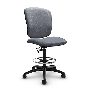 Global® (5339-6 MT30) Supra-X Drafting Task Chair, Match Grey Fabric, Grey