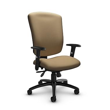 Global® (5333-3 IM71) Supra-X Multi Tilter Chair, Imprint Cork Fabric, Tan