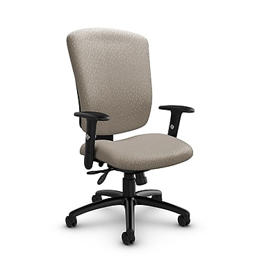 Global® (5333-3 MT20) Supra-X Multi Tilter Chair, Match Desert Fabric, Tan