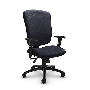 Global® (5333-3 MT31) Supra-X Multi Tilter Chair, Match Quarry Fabric, Grey