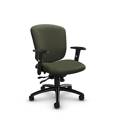 Global® (5336-1 MT22) Supra-X Synchro Tilter Chair, Match Moss Fabric, Green