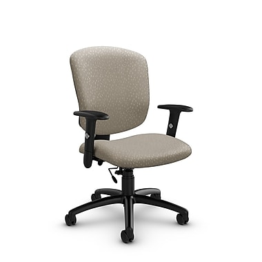 Global® (5336-6 MT20) Supra-X Task Chair, Match Desert Fabric, Tan