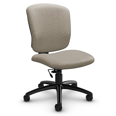 Global® (5337-6 MT20) Supra-X Armless Task Chair, Match Desert Fabric, Tan