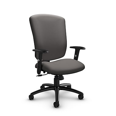 Global® (5333-4 IM82) Supra-X Tilter Chair, Imprint Graphite Fabric, Grey