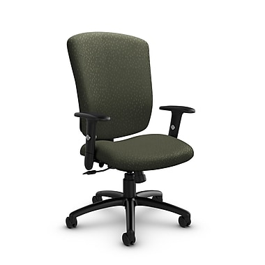 Global® (5333-4 MT22) Supra-X Tilter Chair, Match Moss Fabric, Green