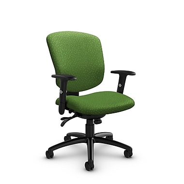 Global® (5336-3 MT27) Supra-X Multi Tilter Chair, Match Green Fabric, Green