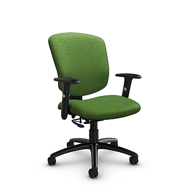 Global® (5336-7 MT27) Supra-X Posture Chair, Match Green Fabric, Green