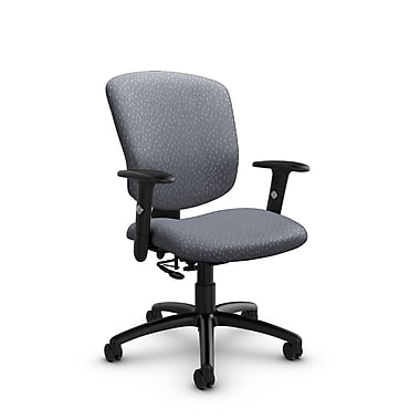 Global® (5336-7 MT30) Supra-X Posture Chair, Match Grey Fabric, Grey