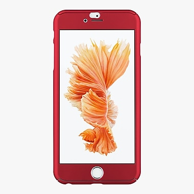 FACE by Phantom Glass Case for iPhone 6/6s Plus, Red