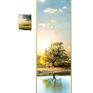 Millbrook Happy Father's Day Greeting Card, Trees, (23902), 18/Pack
