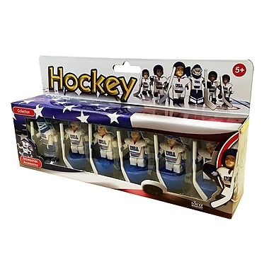 HELLENIC IDEAS USA Hockey Mini Figures, (MEGA9015)