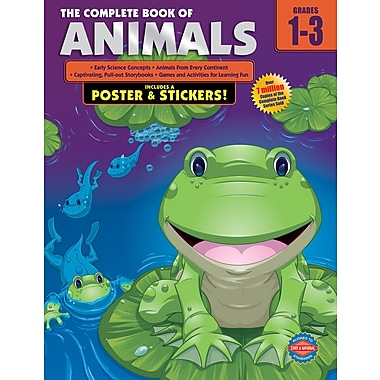 eBook: American Education Publishing 0769685560-EB The Complete Book of Animals, Grade 1 - 3