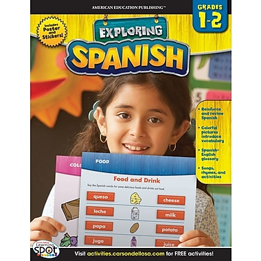 eBook: American Education Publishing 704138-EB Spanish, Grade 1 - 2
