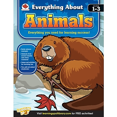 eBook: Carson-Dellosa 704290-EB Animals, Grade 1 - 3