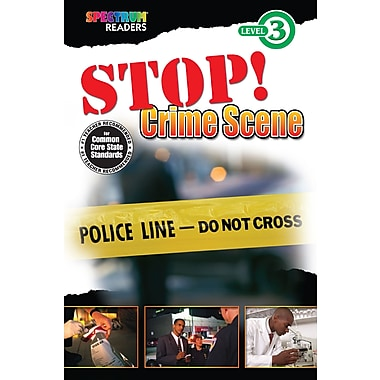 eBook: Spectrum 704335-EB Stop! Crime Scene, Grade 1 - 2