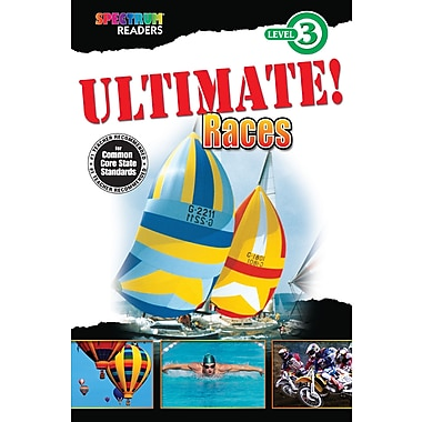 eBook: Spectrum 704340-EB Ultimate! Races, Grade 1 - 2