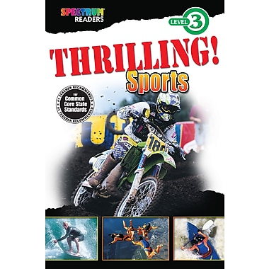 Livre numérique : Spectrum 704341-EB Thrilling! Sports, 1re et 2e année