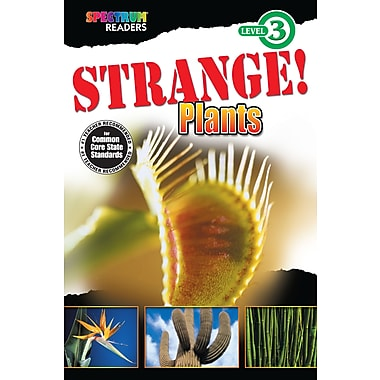 eBook: Spectrum 704342-EB Strange! Plants, Grade 1 - 2