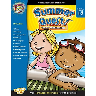 eBook: American Education Publishing 704356-EB Summer Quest™, Grade 1 - 2