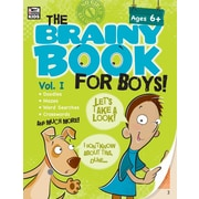 eBook: Thinking Kids 704544-EB Brainy Book for Boys, Volume 1, Grade 1 - 4