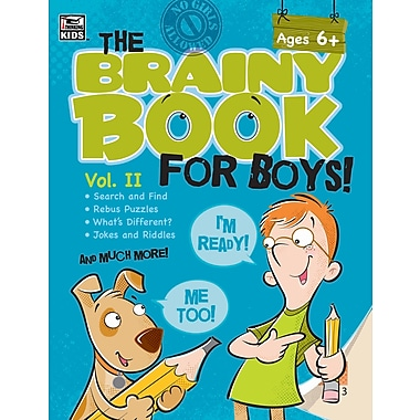 eBook: Thinking Kids 704545-EB Brainy Book for Boys, Volume 2, Grade 1 - 4