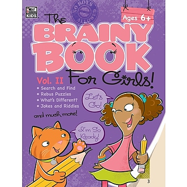 eBook: Thinking Kids 704547-EB Brainy Book for Girls, Volume 2, Grade 1 - 4