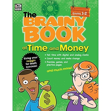 eBook: Thinking Kids 704667-EB Brainy Book of Time and Money, Grade 1 - 2