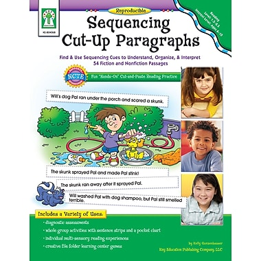 eBook: Key Education 804068-EB Sequencing Cut-Up Paragraphs, Grade 1 - 2