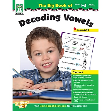 Livre numérique : Key Education 804104-EB, The Big Book of Decoding Vowels, 1re à 3e année