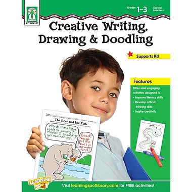 eBook: Key Education 804107-EB Creative Writing, Drawing, & Doodling, Grade 1 - 3