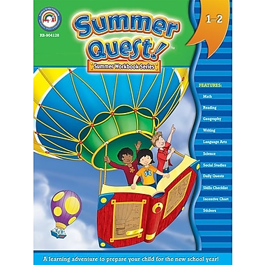 eBook: Summer Quest 904128-EB Summer Quest™, Grade 1 - 2
