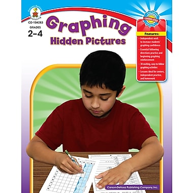 eBook: Carson-Dellosa 104283-EB Graphing Hidden Pictures, Grade 2 - 4