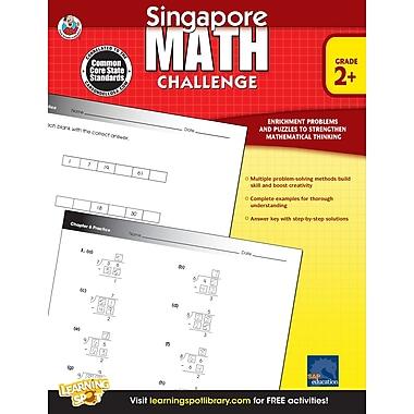 eBook: Frank Schaffer 704279-EB Singapore Math Challenge, Grade 2 - 5