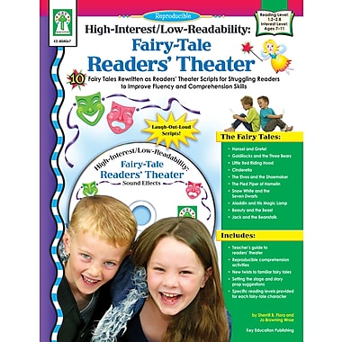 eBook: Key Education 804067-EB Fairy Tale Readers' Theater, Grade 2 - 6