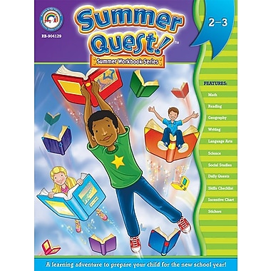 eBook: Summer Quest 904129-EB Summer Quest™, Grade 2 - 3