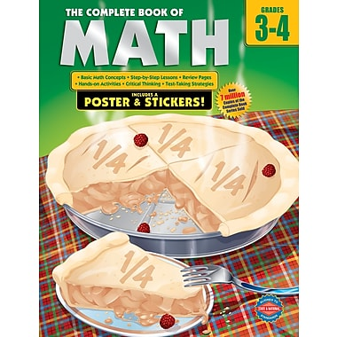 eBook: American Education Publishing 0769685617-EB The Complete Book of Math, Grade 3 - 4